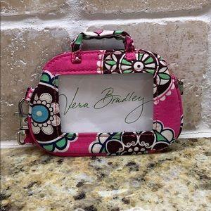 RETIRED Cupcakes Pink Luggage Tag Vera Bradley